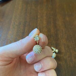 5 for $15! Gold Diamond Earrings
